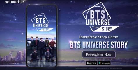 BTS Universe Story, El Nuevo Videojuego Del Grupo De K-Pop Para ...