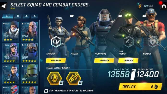 Ya está disponible Tom Clancy's Elite Squad para dispositivos móviles 4