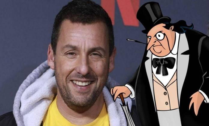 Adam Sandler podría ser el Pingüino en el DCEU 1