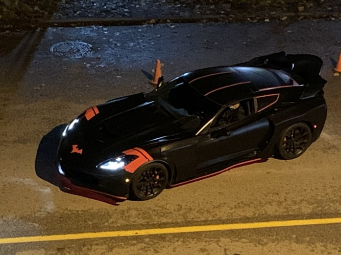 Batwoman, Batmobile, Batman