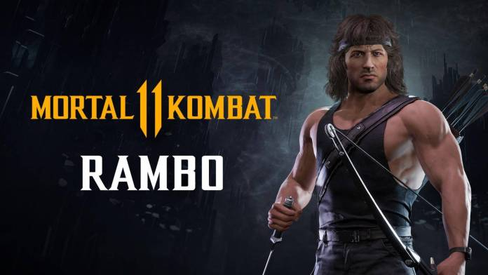 Rambo se muestra en Mortal Kombat 11 Ultimate 1