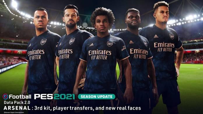 eFootball PES 2021 Season Update ha recibido su paquete de datos 2.0 20