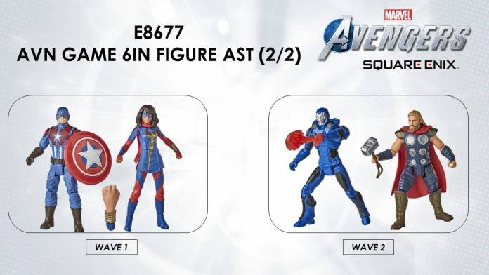 Conoce las figuras del Gameverse del videojuego Marvel's Avengers 2