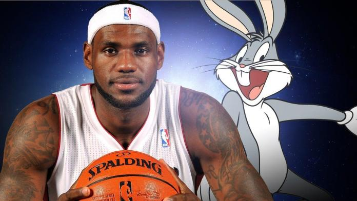 Space Jam, LeBron James, Bugs Bunny