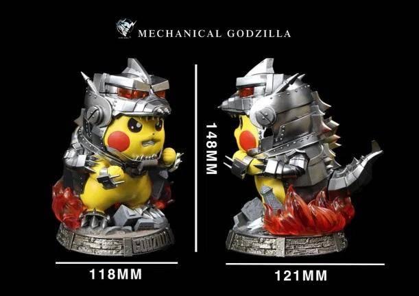Pikachu Mecha Godzilla