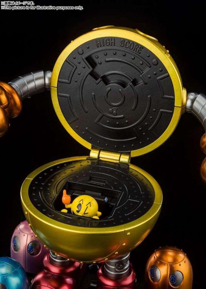 Pac-Man lanza al mercado una figura transformable que lanza fantasmas 3