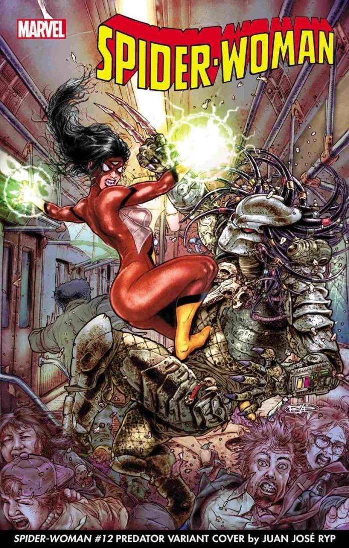 Predator vs Marvel, Spider-Woman