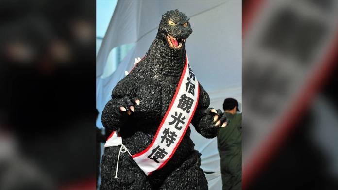 Godzilla fue nombrado embajador y ciudadano oficial de Japón, así como un gran representante del turismo.