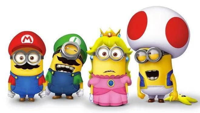 Minions Mario Bros