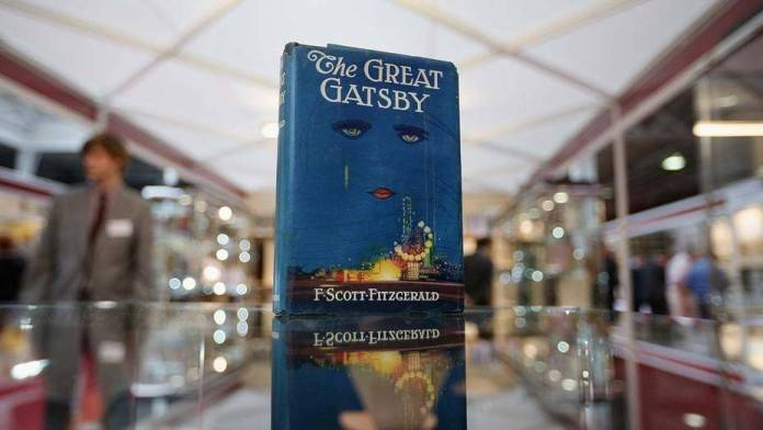 The Great Gatsby, El Gran Gatsby libro