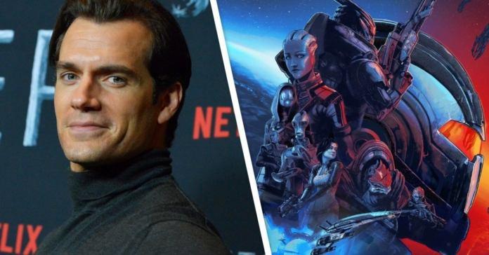 Rumor: Henry Cavill participará en un live-action de Mass Effect 1