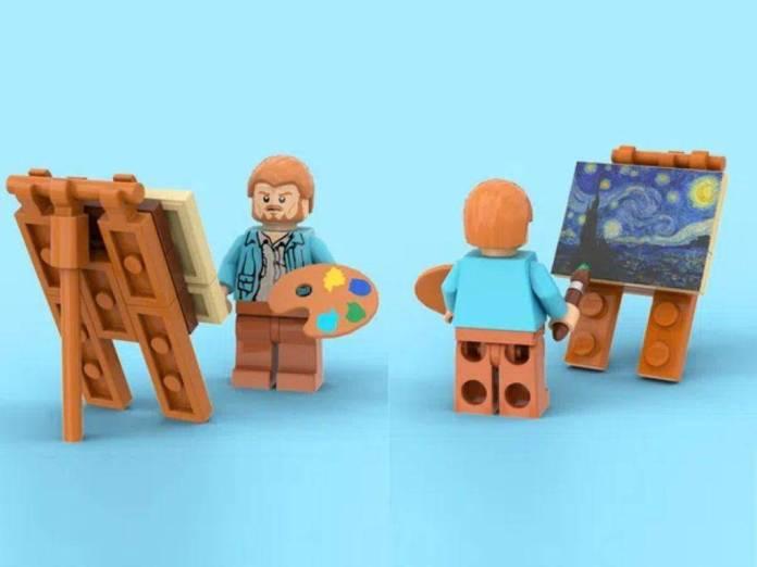 Vincent Van Gogh Lego