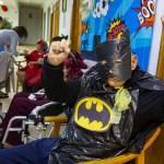 Abuelitos, Disfraz, Superheroes