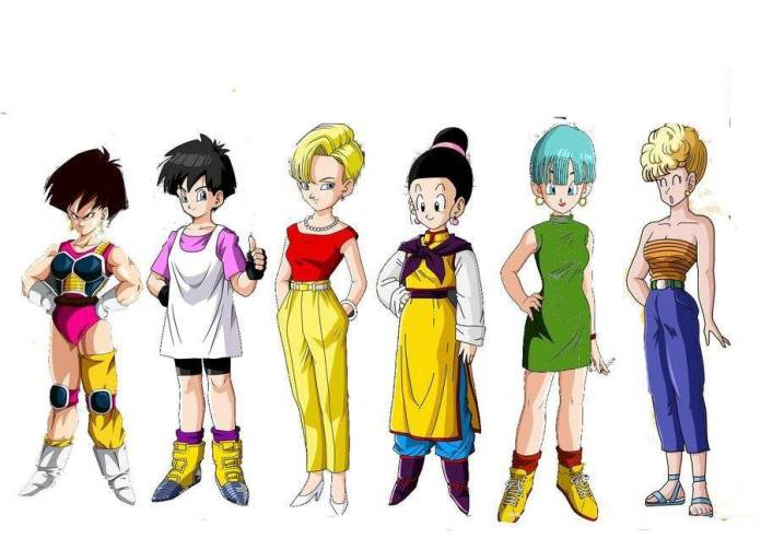 Dragon Ball Mujeres