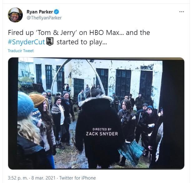 El 'Snyder Cut' es filtrado por error en HBO Max 1