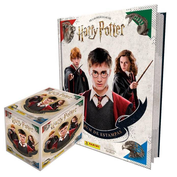 Panini Harry Potter (Albúm + Caja Sobres)