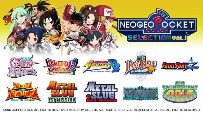 NEOGEO Pocket Color Selection Vol. 1 ya se encuentra disponible en Nintendo Switch 1