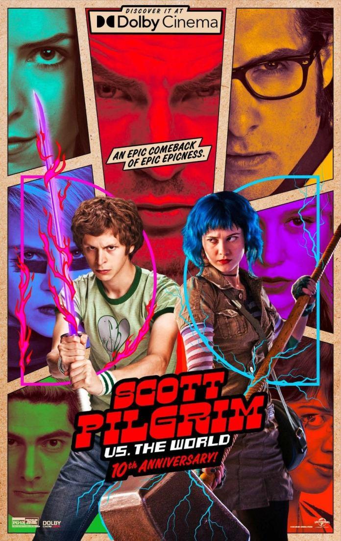 Scott Pilgrim vs The World será reestrenada en cines 4