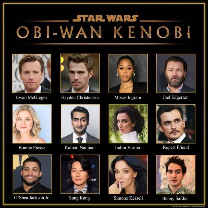 elenco de la serie Obi-Wan