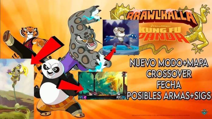 Kung Fu Panda de Dreamworks Animation a Brawlhalla como Crossover Épico 1