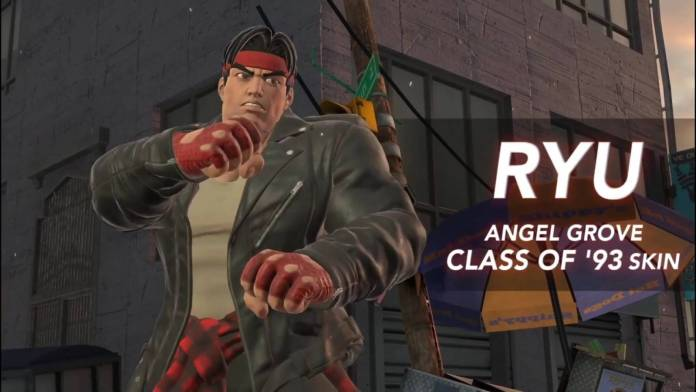 Power Rangers: Battle For The Grid – Crossover con Street Fighter revela a Ryu con el traje de Angel Grove. 2