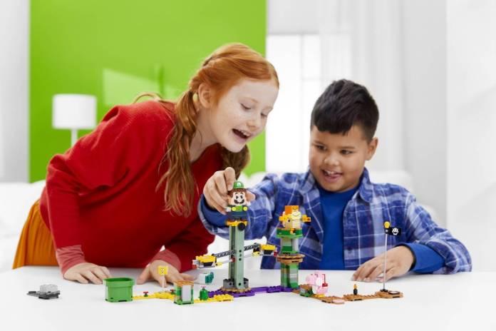 Luigi se unirá al set de LEGO Super Mario 2