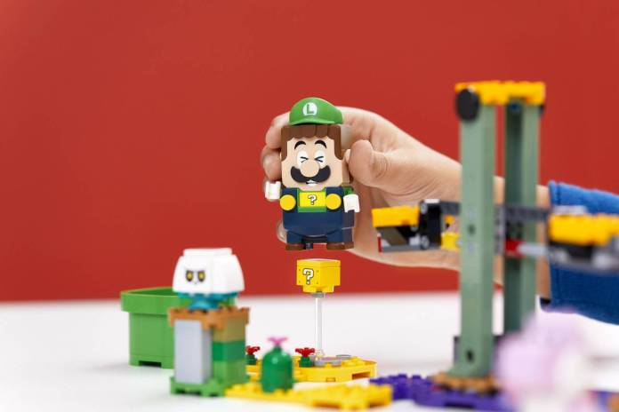 Luigi se unirá al set de LEGO Super Mario 4