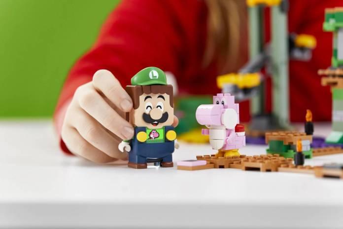 Luigi se unirá al set de LEGO Super Mario 6