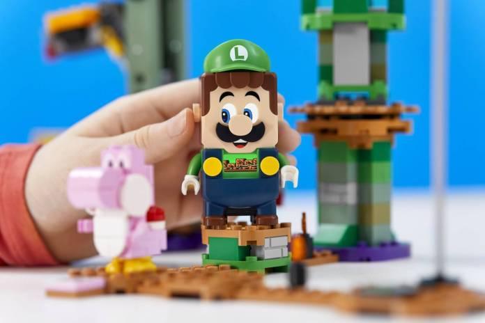 Luigi se unirá al set de LEGO Super Mario 7