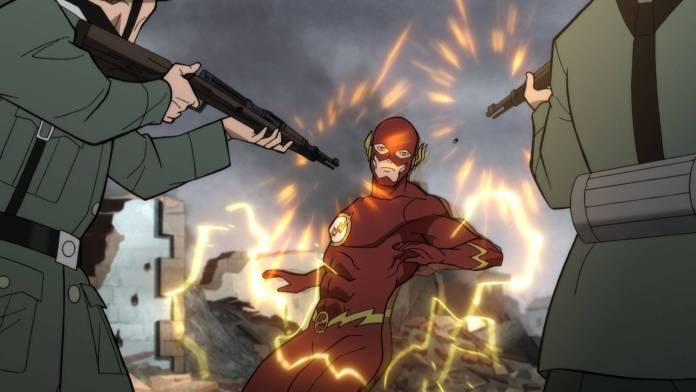 Justice Society World War 2 The Flash