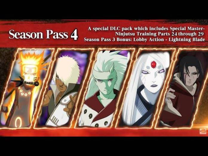 Naruto to Boruto Shinobi Striker Pase de Temporada 4
