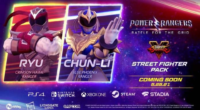 Street Fighter, Power Rangers,