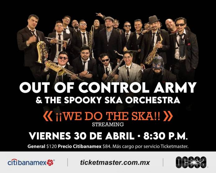 Out of Control Army & The Spooky Ska Orchestra presentan We Do The Ska 2