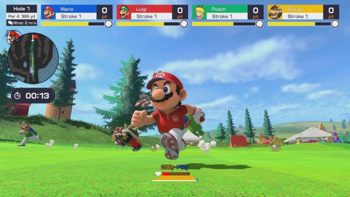 Mario Golf: Super Rush estrena nuevo trailer 1