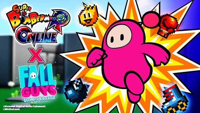 ¡Fall Guys y Bomberman se unen en este épico Crossover!