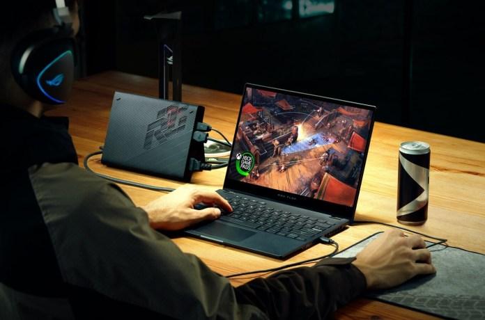 Asi es la nueva Asus ROG Flow X13 una laptop gamer convertible y ultradelgada.