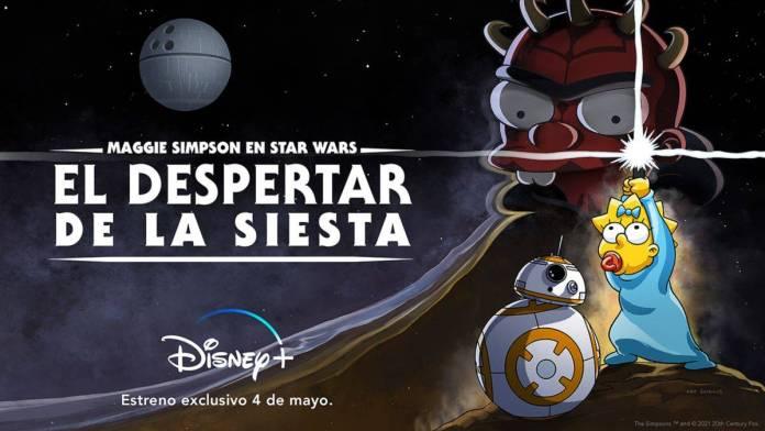 Star Wars: El despertar de la siesta es el nuevo crossover de los Simpson con Star Wars exclusivo de Disney+