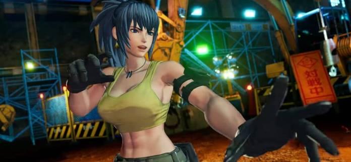 Se presenta Leona en The King of Fighters XV 2