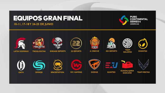 PUBG: ¡Continental Series Américas ya tiene a sus 16 finalistas! 1