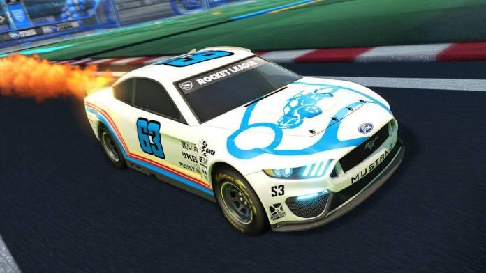 Rocket League: Psyonix y NASCAR anuncian el 2021 Fan Pack 9