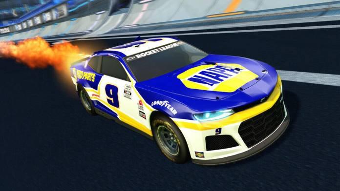 Rocket League: Psyonix y NASCAR anuncian el 2021 Fan Pack 1