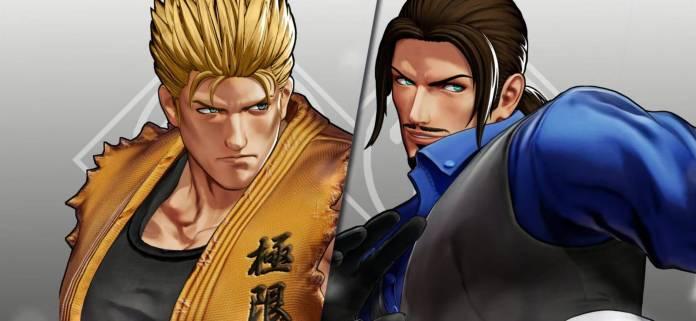 Robert García y Ryo Sakazaki también se estarán en The King of Fighters XV 5