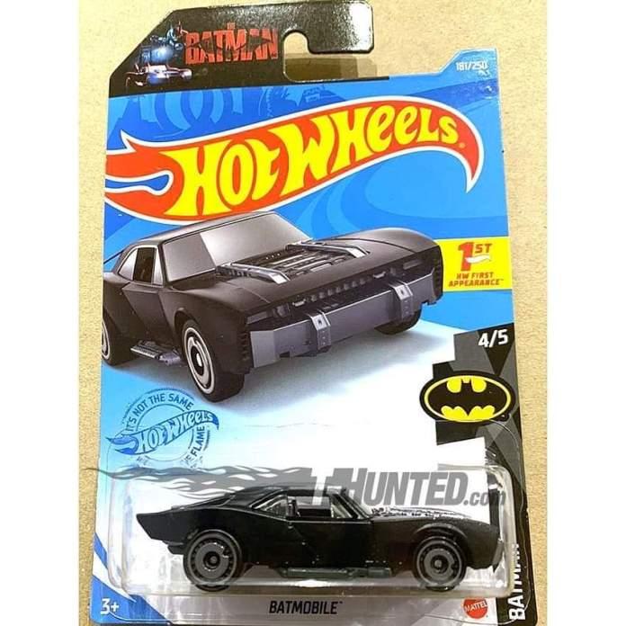 Batman: Revelan las fotos del blister de Hot Wheels para el Batmobile de The Batman 2