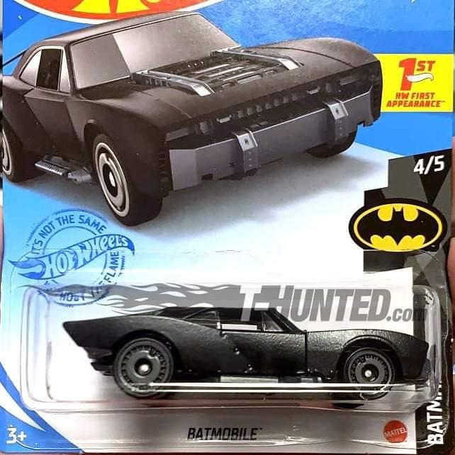Batman: Revelan las fotos del blister de Hot Wheels para el Batmobile de The Batman 1