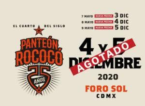 Panteón Rococó reprograma sus presentaciones en el Foro Sol 2