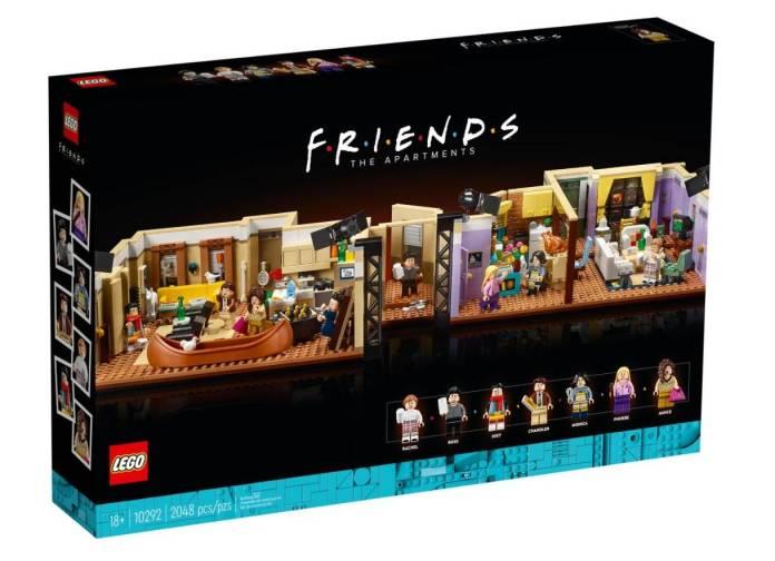 FRIENDS: Ahora podrás construir los 2 apartamentos con el nuevo set de LEGO 3