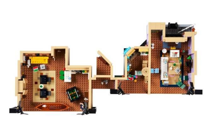 FRIENDS: Ahora podrás construir los 2 apartamentos con el nuevo set de LEGO 1