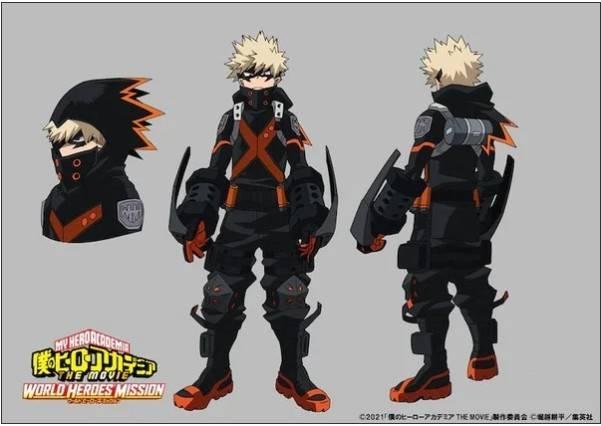Boku No Hero: Revela los nuevos trajes de los 3 mosqueteros 1