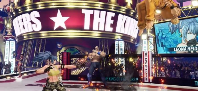 Se presenta Leona en The King of Fighters XV 4