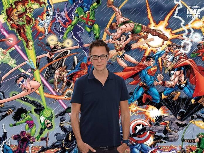 Marvel Comics vs DC Comics, James Gunn